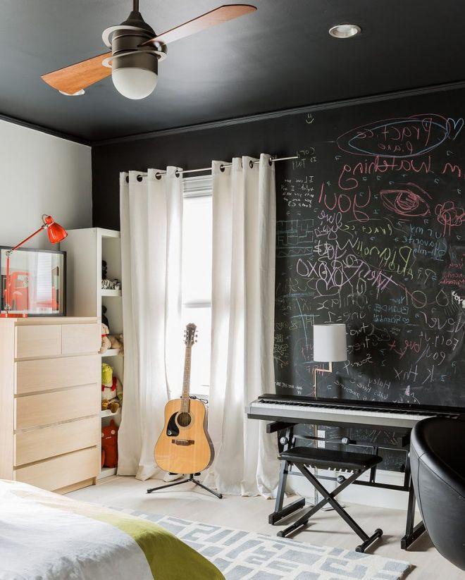 tabulový nátěr do pokoje
