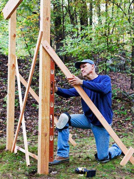 Jak postavit základy pergoly