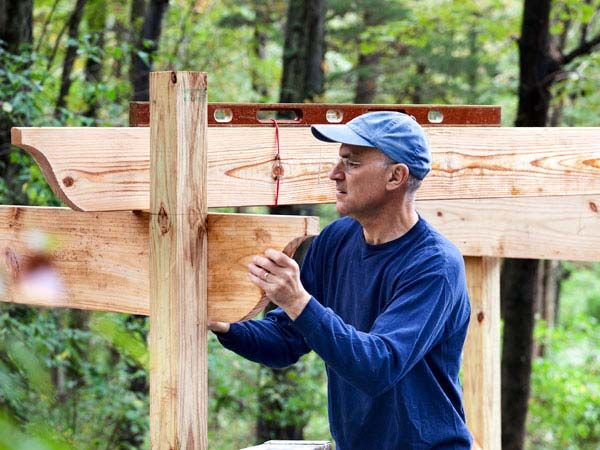 Jak postavit stěny pergoly