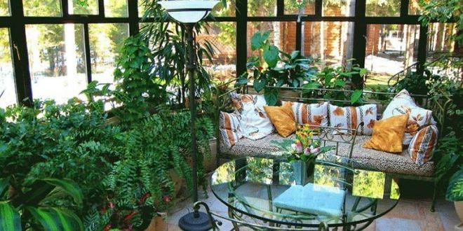 Zimní zahrada jako rozkvetlá oáza klidu