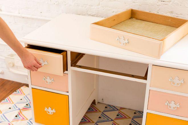 levná proměna psacího stolu