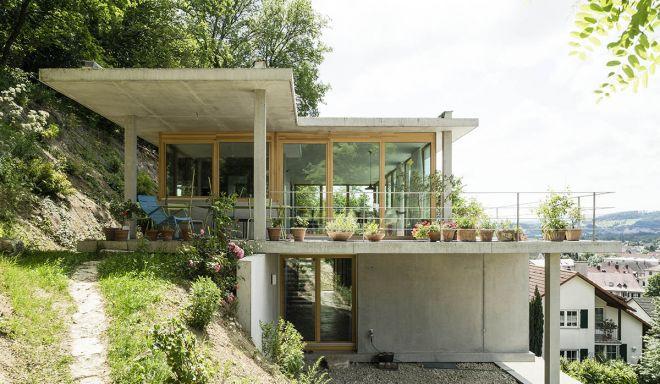 dom v kopci projekt