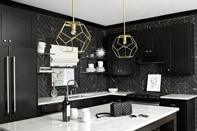 Čierna alebo biela kuchyňa?