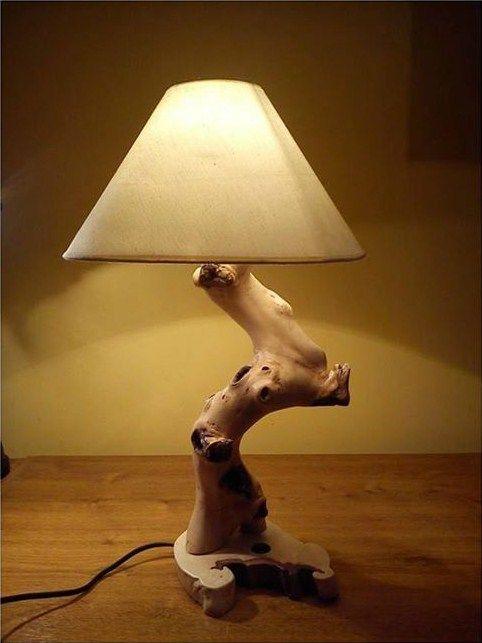 lampa ze samorostu