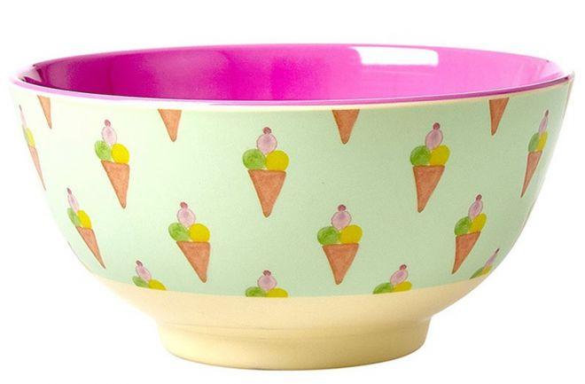 miska na ovoce zmrzlina