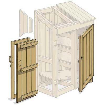 domek na nářadí - jak postavit