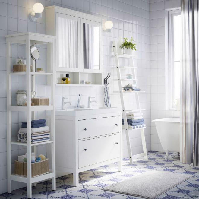 Vhodný a stylový nábytek do koupelny