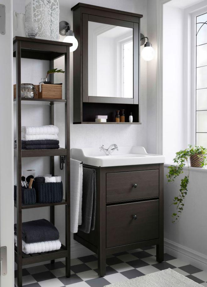 Praktický a funkční nábytek do koupelny