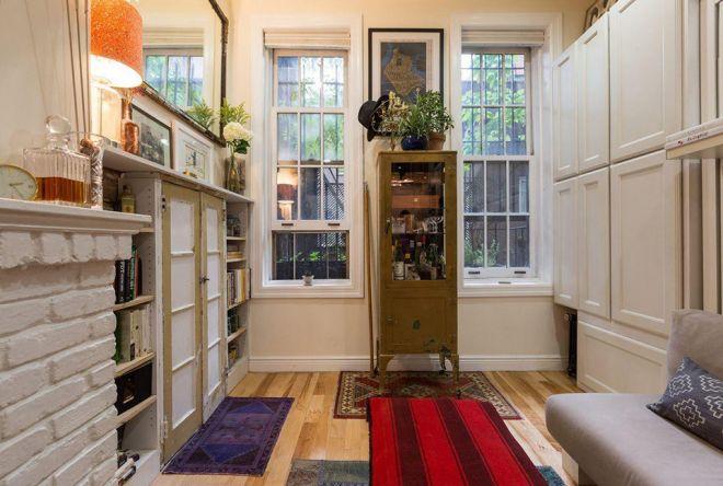 Malý byt jako hezký obývací pokoj