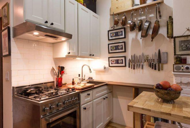 Malý byt s kuchyní i sporákem