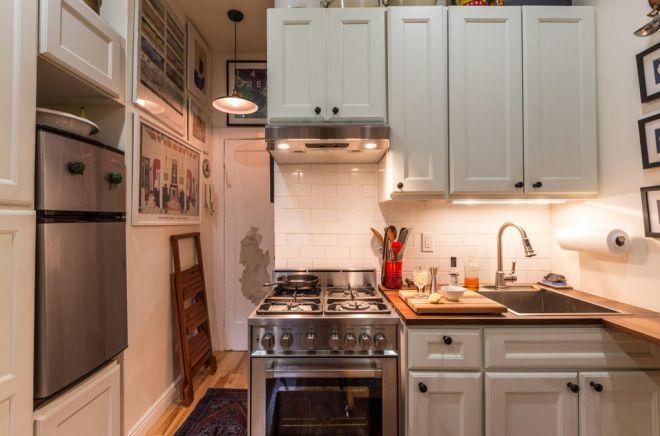 Malý byt s kuchyní