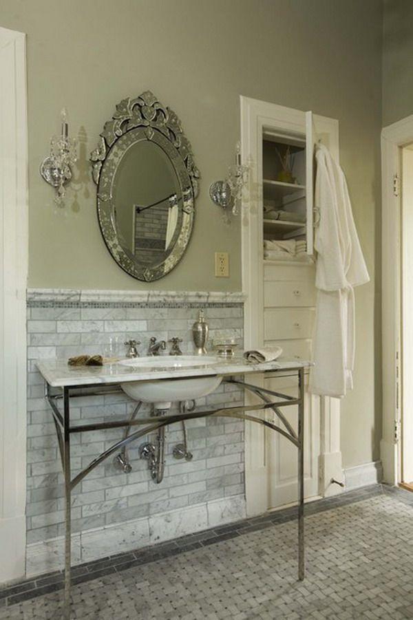 Designová koupelna v antickém provedení