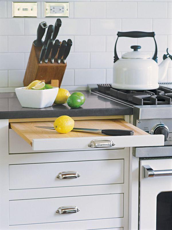 Vysouvací kuchyňská deska