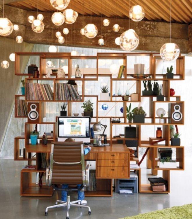 Domácí pracovna - úložný prostor, nebo optické oddělení?