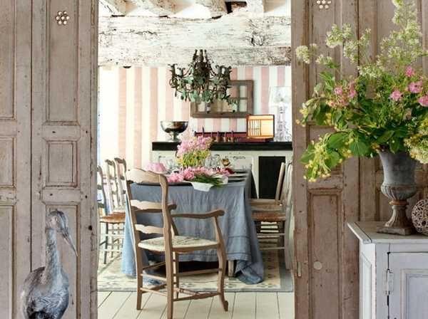 Francouzsky vidiek v provensálskom štýle je nesmrteľným trendom v bývaní