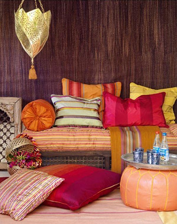 Ethno čiže marocký štýl ako novinka v trendy štýloch v bývaní pre rok 2015