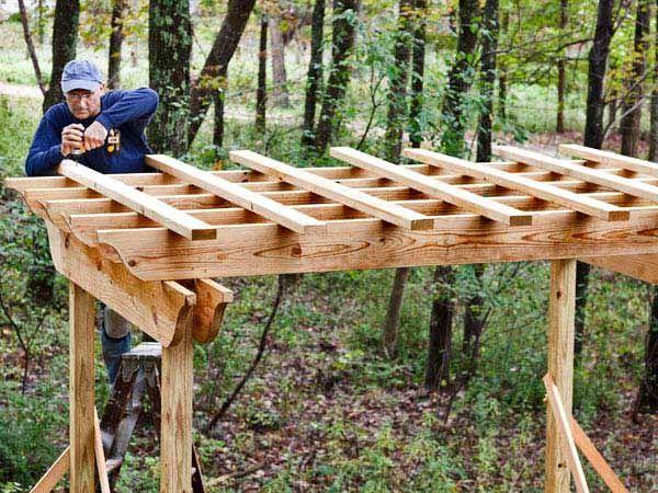 Jak postavit střechu pergoly