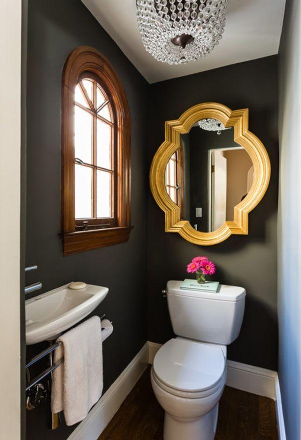 Malá designová koupelna s optickým prosvětlením