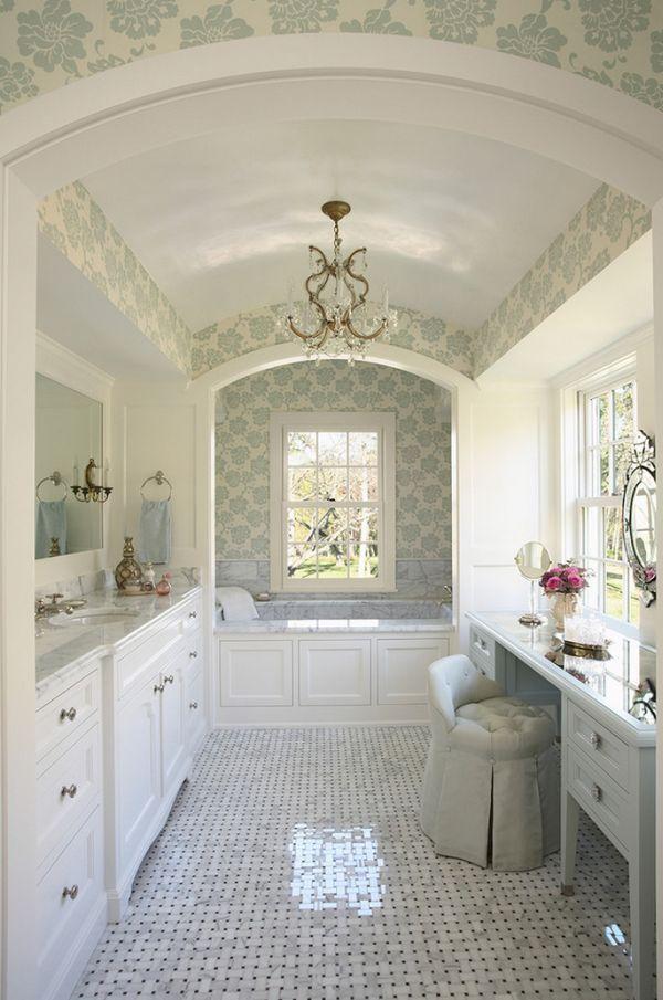 Velká designový koupelna