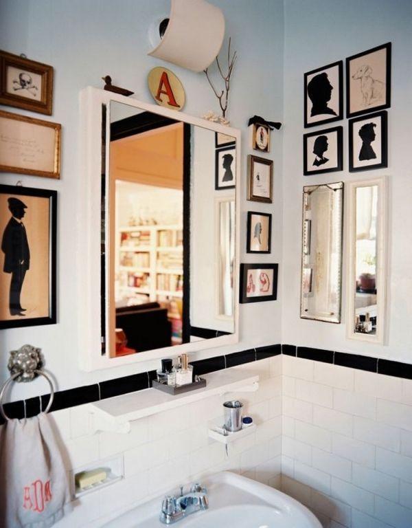 Moderní koupelna s obrázkovou dekorací