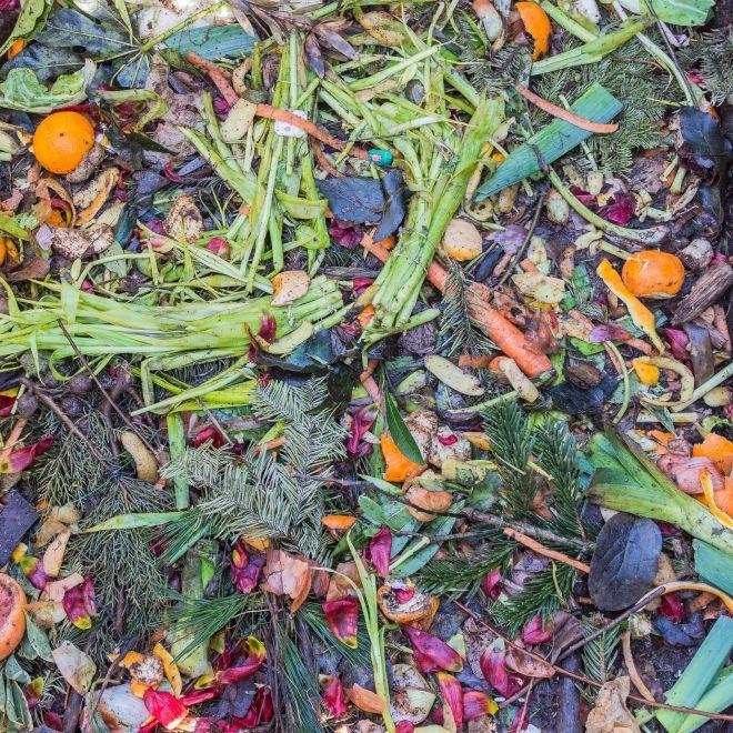 domácí kompost na balkóně