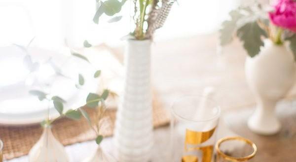 Stylové a dekorativní jarní prostírání