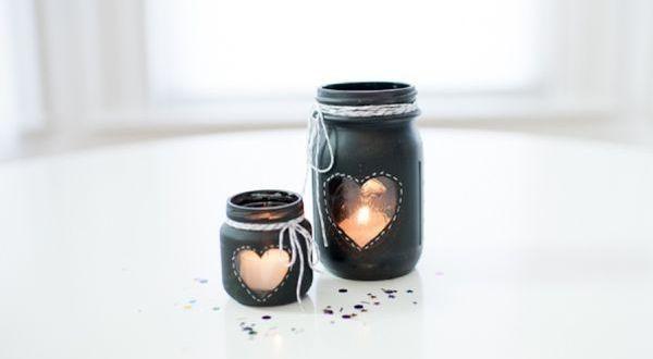Vyzdobte si ponurý podzim a vyrobte si originální svícny