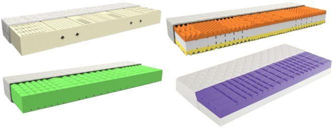 Matrace zo studenej peny, latexové alebo s pamäťovým efektom? Vyberte si!