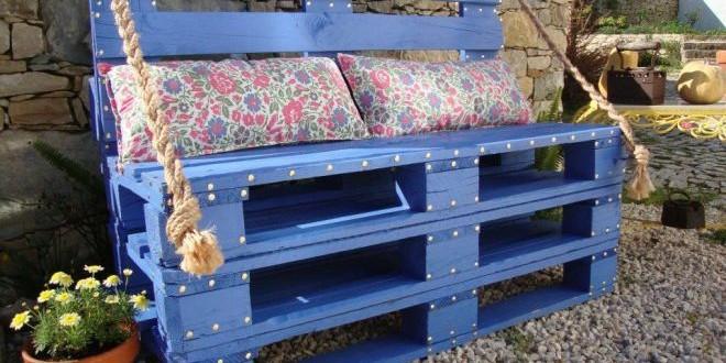 Alternativní nábytek z palet