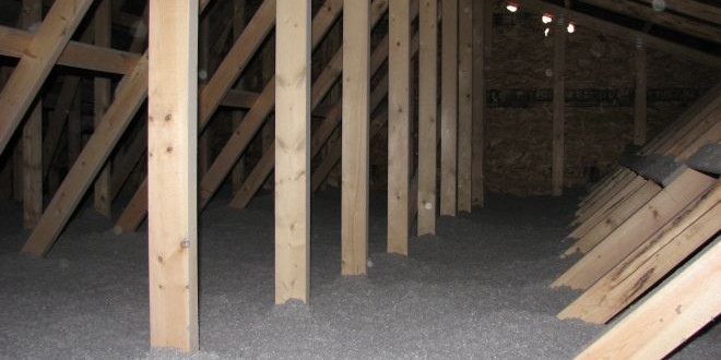 Zateplujeme strop a střechu.